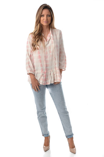 Holly Sienna & Co - Tye and Dye Top Blush - 6240