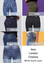 Load image into Gallery viewer, New London Jeans - Chelsea Olive