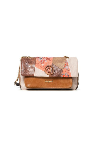 Desigual - Japan Path Zurich Cotton Leather Style Bag - 20SAXPBE
