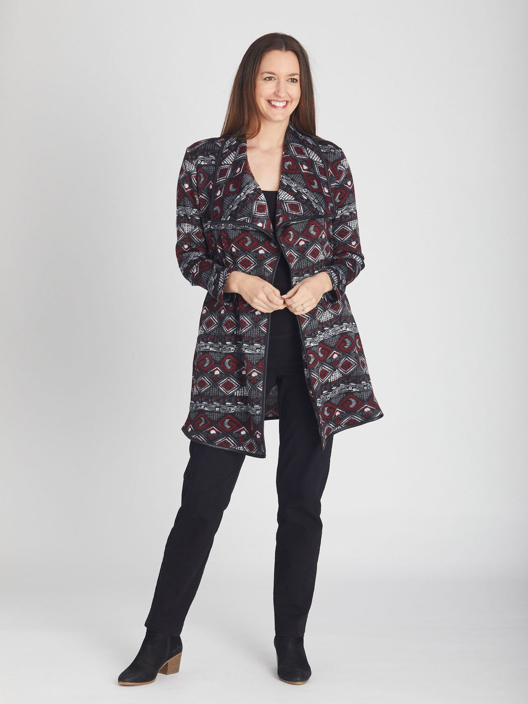 Cordelia st - Artic Snuggle Jacket Ruby - MCJ25931