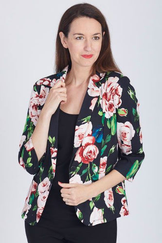 CC Collection - Lavina Blazer Black - LCCJ25240