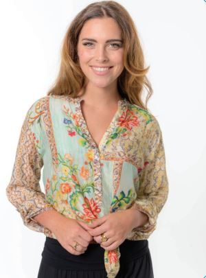 Cienna - Wild Flower Shirt