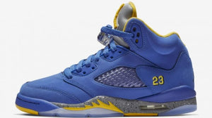 Official Images of Air Jordan 5 JSP 'Laney Varsity' Dropping January 19th