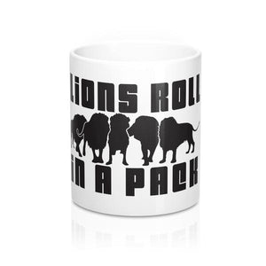 Lions Roll In A Pack Mug 11oz