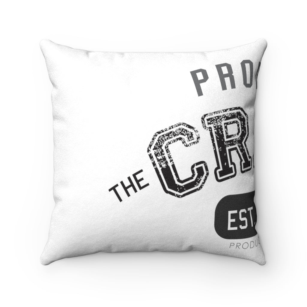 Product Of The Crack Era Faux Suede Square Pillow Case