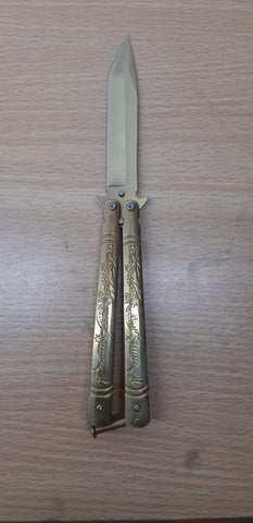 Butterfly Knife Golden K-168