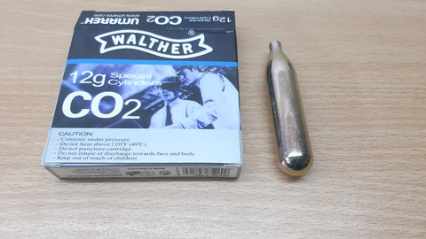 Walther 12g Co2 Cartridges.