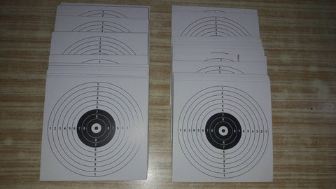 Airgun Shooting Targets - Pack Of 100 Sheets
