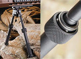 BT10 LW17 V8 Atlas - 360 degrees Adjustable Bipod with Picatanny Rail