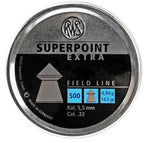 RWS Superpoint Extra .22 Cal, 14.5 Grains, Pointed, 500ct