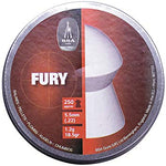 BSA Fury .22 Cal, 18.5 Grains, Domed, 250ct