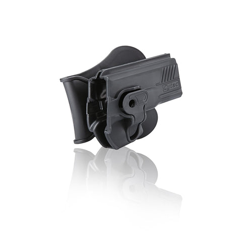 Cytac T800 Paddle Polymer Holster for Tauras Pistols, Black