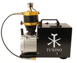 Tuxing PCP Electric Compressor 4500PSI - 300Bars High Pressure with Auto Stop