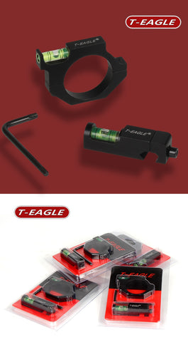 T-Eagle Bubble Level Set for 30mm Tube Scope