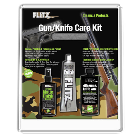 Flitz Gun & Knife Care Kit - KG 41501