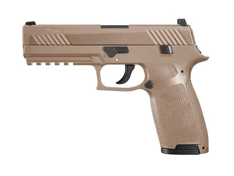 Sig Sauer P320 Co2 Air Pistol, Coyote Tan Finish