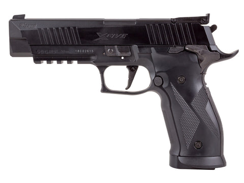 Sig Sauer X-Five ASP CO2 Pellet Pistol, Black