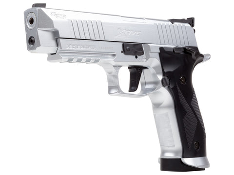 Sig Sauer X-Five ASP Co2 Air Pistol, Silver