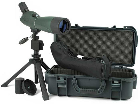 Hawke Sport Optics Nature 24-72x70mm Angled Spotting Scope & Tripod