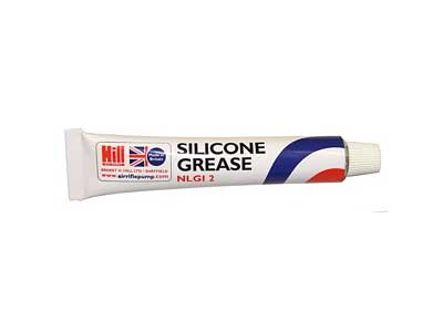 Hill Pump Silicone Grease - Single Tube