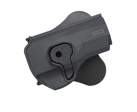 Cytac PX4 Paddle Polymer Holster for Beretta PX4 Storm/Stoeger, Black
