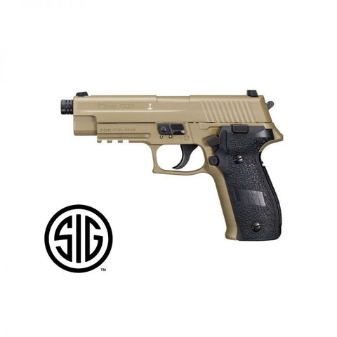 Sig Sauer P226 Co2 Air Pistol, Flat Dark Earth (FDE) Finish