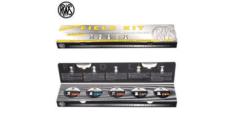 RWS Field Kit, Sampler Pack, .177 Cal