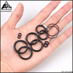 PCP Hand Pump Repair Kit Rubber O-Ring Seal Kit 12pcs 1 set