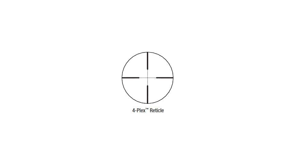 Redfield Revenge 3-9x52mm Rifle Scope - 4Plex Reticle