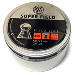 RWS Superfield .22 Cal, 15.9 Grains, Domed, 500ct