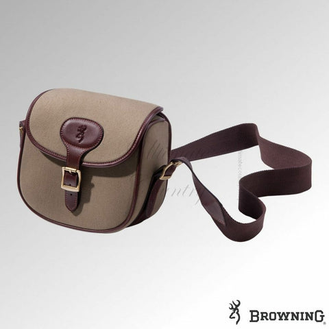 Browning Heritage Canvas and Leather Cartridge Bag