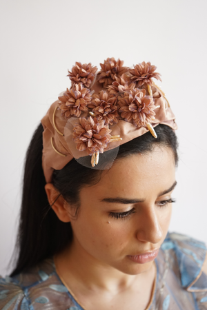 Rose Gold Mum Turban Head Band