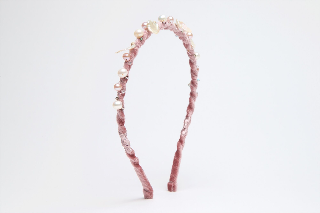 Ripple Rose A Head Band