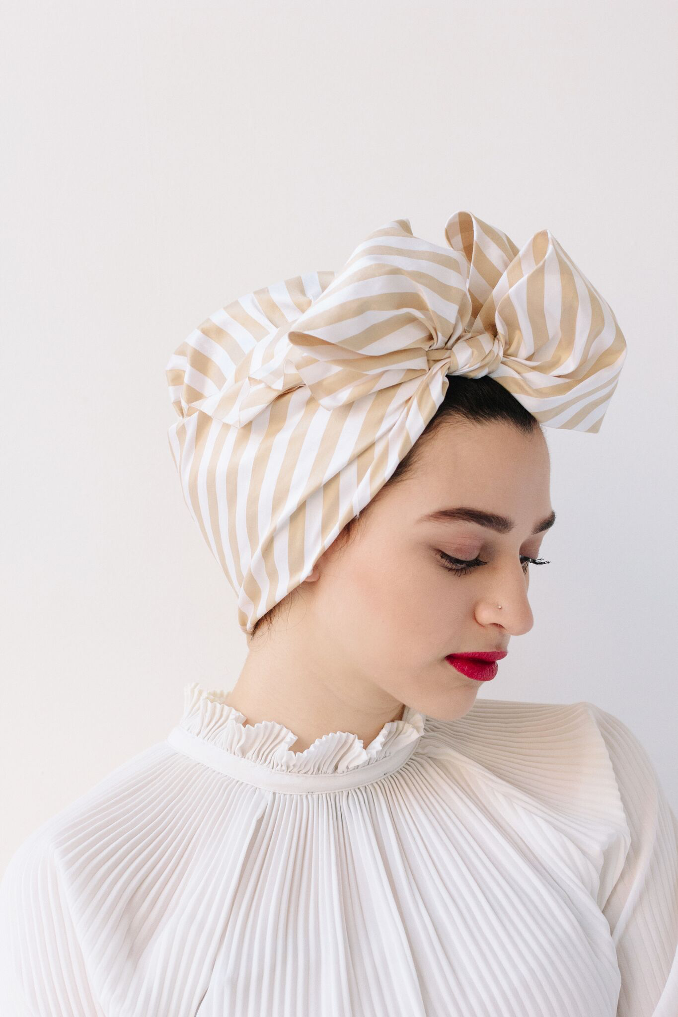 Tribeca Cream Turban