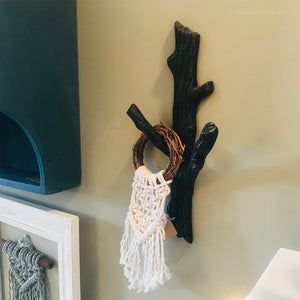 Tree Bark Wall Hook