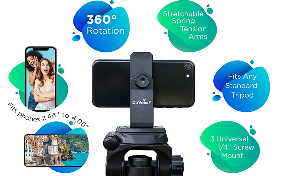 cell phone tripod mount