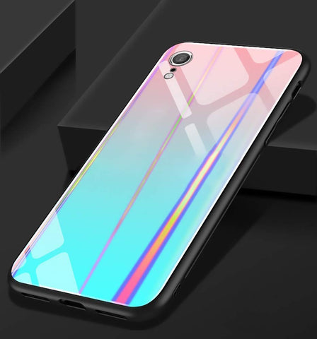 holographic iPhone XR case