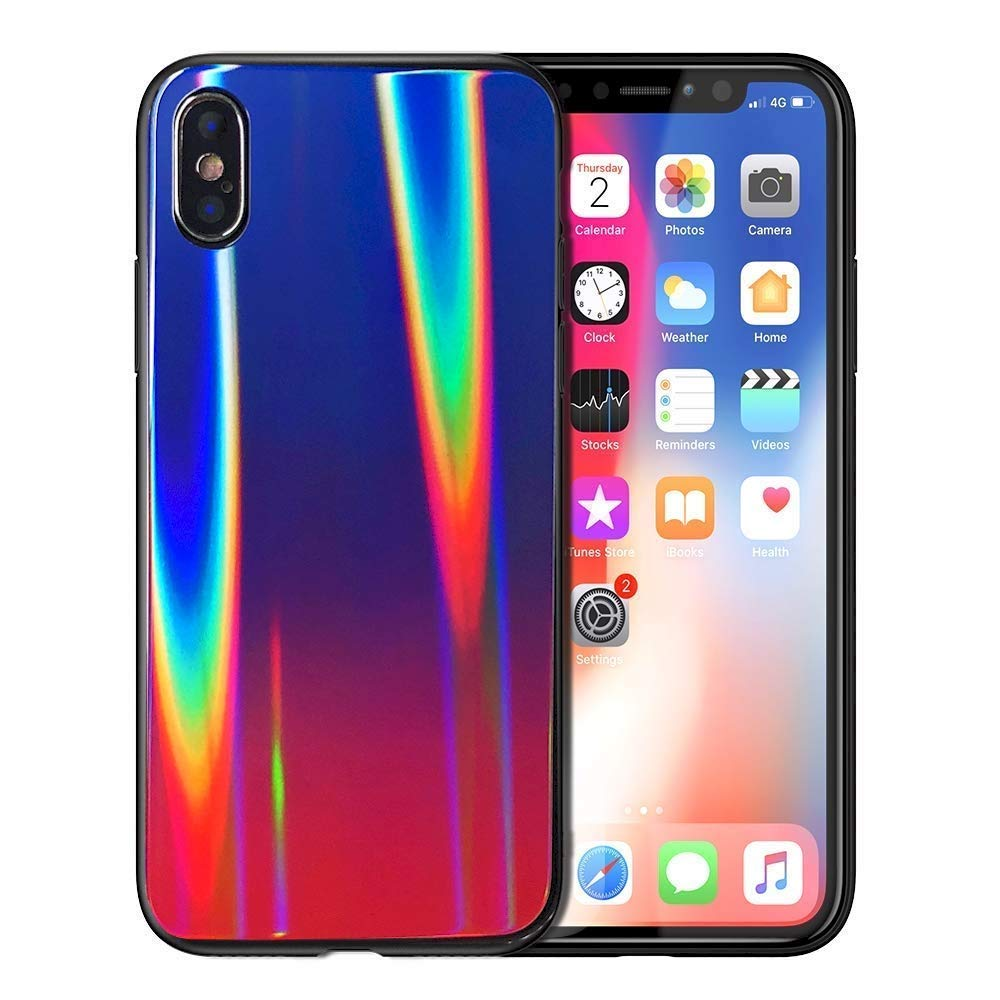 iPhone XS Max case colorful