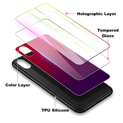 iPhone X case gradient