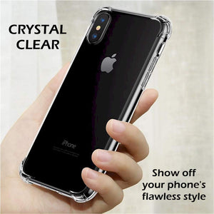 iPhone Xs Clear Case, Slim Case for Apple iPhone Xs