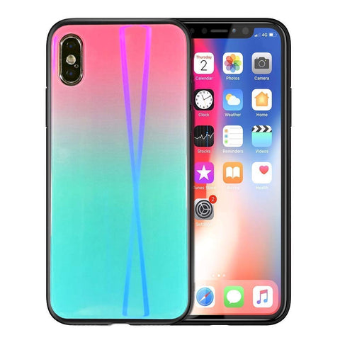 Image of teal iPhone X case