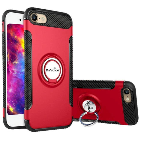 Image of iphone 8 plus case with ring