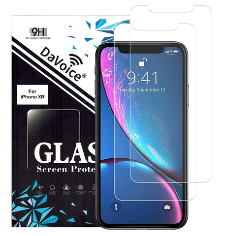 Image of tempered glass screen protector iphone xr