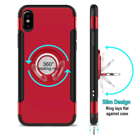 iphone xs max red ring case