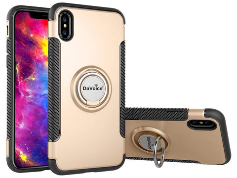 Image of iphone xs case with ring holder