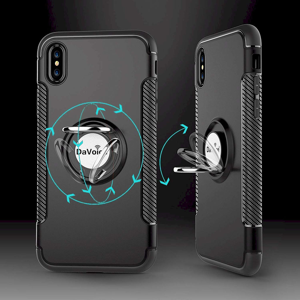 iphone xs max case ring holder