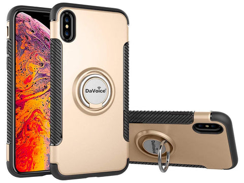 Image of iphone case with ring gold