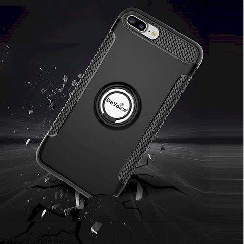Image of iphone 8 plus case with ring holder