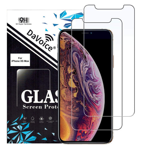 Image of tempered glass screen protector iphone xs max