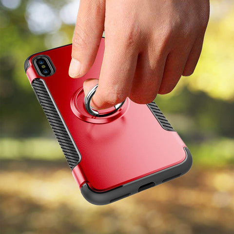 Image of iphone xs max red case ring